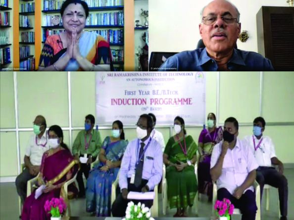 Induction for the first year students at SRIT