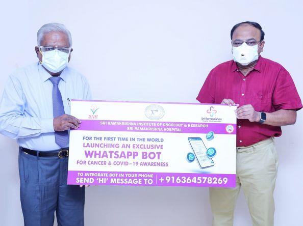 Sri Ramakrishna Hospital commemorates World No Tobacco Day